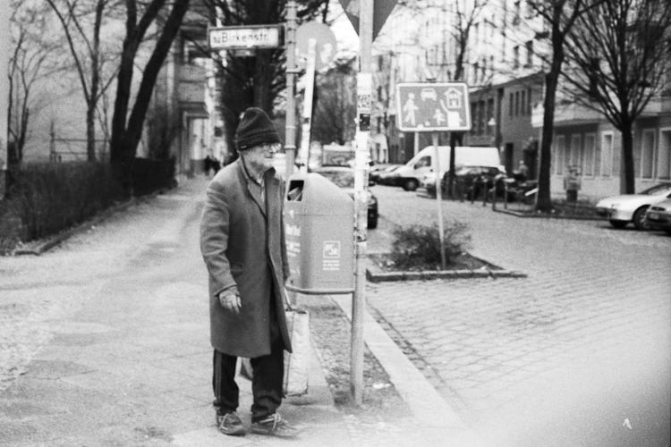 elderly and poor / berlin 2011